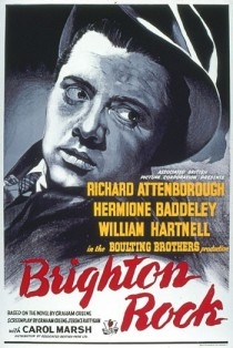 1947 Brighton Rock Movie Film Cinema Poster Art Advance Teaser Theatrical