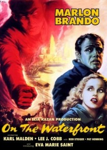 1954 On The Waterfront Movie Film Cinema Poster Art Advance Teaser Theatrical