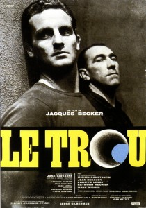 1960 Le Trou The Hole Movie Film Cinema Poster Art Advance Teaser Theatrical