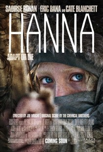 2011 Hanna Movie Film Cinema Poster Art Advance Teaser Theatrical