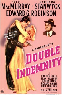 1944 Double Indemnity Movie Film Cinema Poster Art Advance Teaser Theatrical