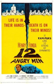 1957 12 Angry Men Movie Film Cinema Poster Art Advance Teaser Theatrical