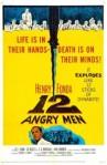 1957 12 Angry Men Movie Film Cinema Poster Art