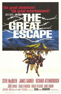 1963 The Great Escape Movie Film Cinema Poster Art Advance Teaser Theatrical