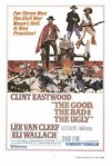 1966 The Good The Bad and the Ugly il buono brutto cattivo Movie Film Cinema Poster Art