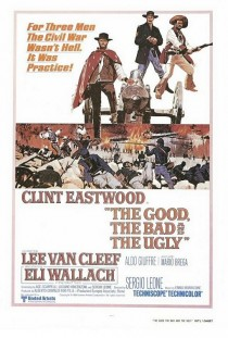 1966 The Good The Bad and the Ugly il buono brutto cattivo Movie Film Cinema Poster Art Advance Teaser Theatrical