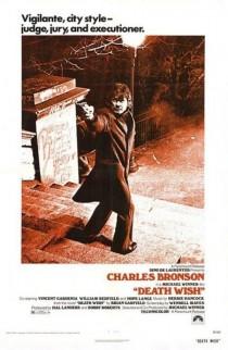 1974 Death Wish Movie Film Cinema Poster Art Advance Teaser Theatrical