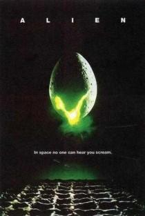 1979 Alien Movie Film Cinema Poster Art Advance Teaser Theatrical
