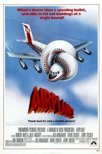 1980 Airplane! Movie Film Cinema Poster Art Advance Teaser Theatrical