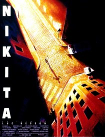1990 La Femme Nikita Movie Film Cinema Poster Art Advance Teaser Theatrical