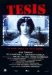 1996 Thesis Tesis Movie Film Cinema Poster Art