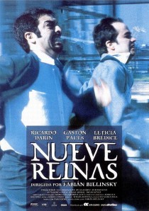 2000 Nine Queens Nueve reinas Movie Film Cinema Poster Art Advance Teaser Theatrical