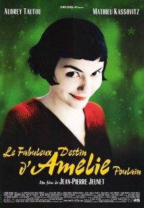 2001 Amelie Amélie Le Fabuleux Destin d'Amélie Poulain Movie Film Cinema Poster Art Advance Teaser Theatrical