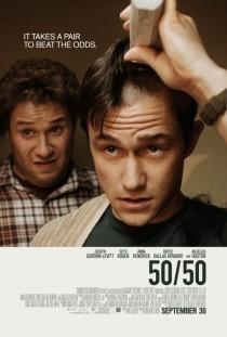 2011 50/50 Movie Film Cinema Poster Art Advance Teaser Theatrical