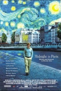 2011 Midnight in Paris Movie Film Cinema Poster Art Advance Teaser Theatrical