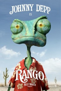 2011 Rango Movie Film Cinema Poster Art Advance Teaser Theatrical