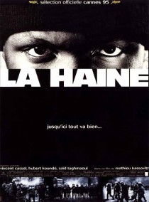 1995 La Haine Hate Movie Film Cinema Poster Art Advance Teaser Theatrical