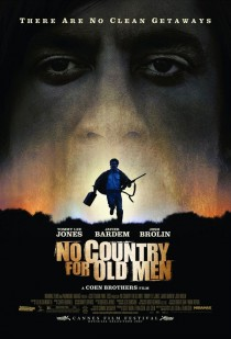 2007 No Country for Old Men Movie Film Cinema Poster Art Advance Teaser Theatrical