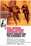 1969 Butch Cassidy and the Sundance Kid Movie Film Cinema Poster Art Advance Teaser Theatrical