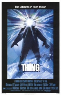 1982 The Thing Movie Film Cinema Poster Art Advance Teaser Theatrical