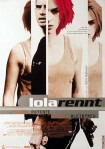 1998 Run Lola Run rennt Movie Film Cinema Poster Art Advance Teaser Theatrical