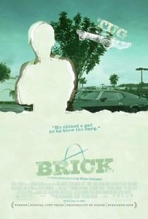 2005 Brick Movie Film Cinema Poster Art Advance Teaser Theatrical