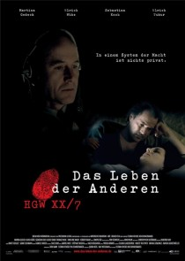2006 The Lives of Others Das Leben der Anderen Movie Film Cinema Poster Art Advance Teaser Theatrical