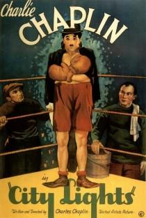 1931 City Lights Movie Film Cinema Poster Art Advance Teaser Theatrical