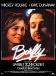 1987 Barfly Movie Film Cinema Poster Art