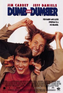 1994 Dumb and Dumber Movie Film Cinema Poster Art Advance Teaser Theatrical