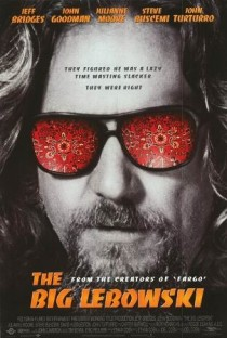 1998 The Big Lebowski Movie Film Cinema Poster Art Advance Teaser Theatrical