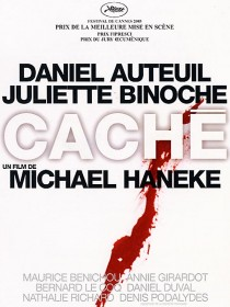 2005 Caché Hidden Movie Film Cinema Poster Art Advance Teaser Theatrical