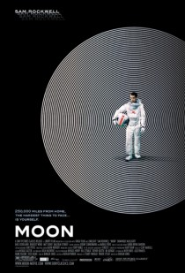 2009 Moon Movie Film Cinema Poster Art Advance Teaser Theatrical