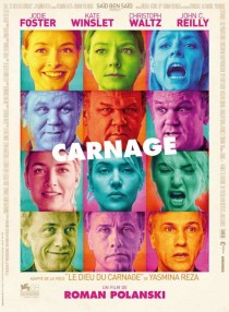 2011 Carnage Movie Film Cinema Poster Art Advance Teaser Theatrical