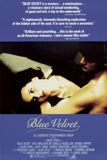 1986 Blue Velvet Movie Film Cinema Poster Art Advance Teaser Theatrical