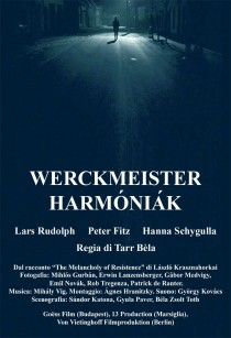 2000 Werckmeister Harmonies Harmóniák Harmoniak Movie Film Cinema Poster Art Advance Teaser Theatrical