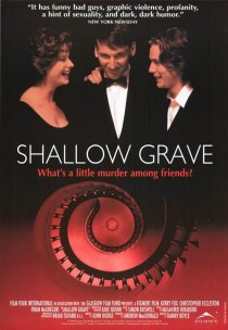 1994 Shallow Grave Movie Film Cinema Poster Art Advance Teaser Theatrical