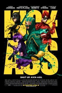 2010 Kick-Ass Movie Film Cinema Theatrical Poster Art