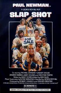 Original Large Theatrical Movie Poster 1977 Slap Shot Cinema Film