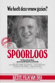 Original Large Theatrical Movie Poster Art 1988 Spoorloos Cinema Film