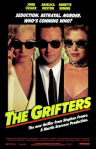 Original Large Theatrical Movie Poster Art 1990 Grifters Cinema Film