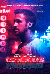 Original Large Movie Poster 2013 Only God Forgives Cinema Film