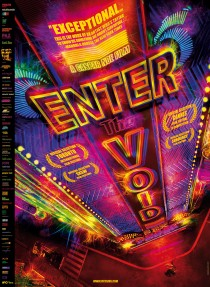 Original Large Theatrical Movie Poster Art Cinema Film 2009 Enter The Void