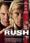 Original Large Theatrical Movie Poster Art Cinema Film 2013 Rush
