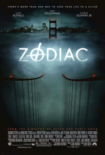 Original Large Theatrical Movie Poster Art Cinema Film 2007 Zodiac