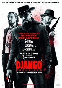 Original Large Theatrical Movie Poster Art Cinema Film 2012 Django Unchained