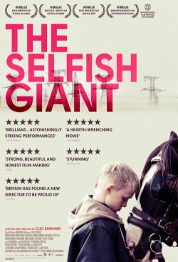 Image result for THE SELFISH GIANT ( 2013 ) POSTER