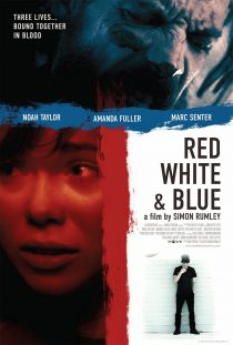 2010 Red White Blue Movie Film Cinema Poster Art
