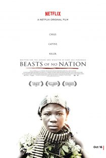 2015 Beast of No Nation Film Cinema Poster Art